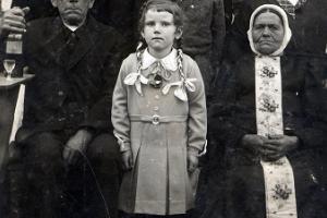 Johann i Magdalena Josefowski (siedzą). Rozmierka 1932 r.
