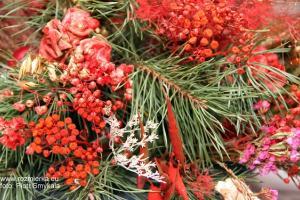 Ozdoba świąteczna z suszu