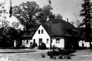 Pałac w Kadłubie przed 1939 r.