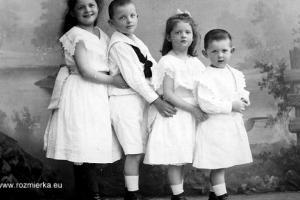 Maria Erna (ur.1894r.), Hans Heinrich (ur.1895r.), Maria Luise (ur.1897r.) i Hubertus (ur.1899r.)