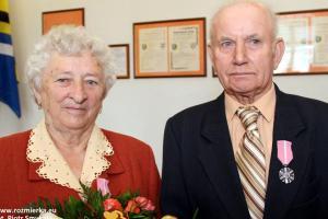 Maria i Antoni Namysło z Rozmierzy