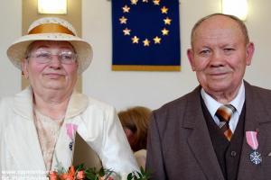 Anna i Jan Smykała z Rozmierki