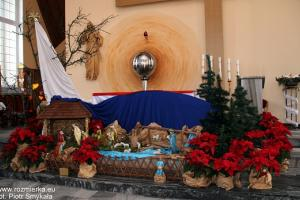 Stajenka w kościele w Rozmierce