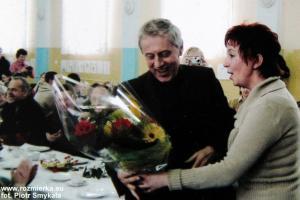 Jan Goczoł na spotkaniu w Rozmierzy w 2005 r.