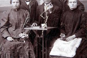 Florentina i Ludwig Rain z rodziną  z Podborzan.