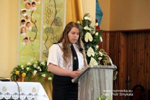 Msza św. za strażaków i ich rodzin w Rozmierce