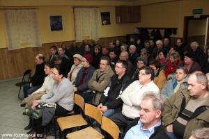 Zebranie sołeckie w Rozmierce.