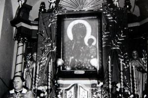ks. Alojzy Budniok (1923 - 1975). Peregrynacja obrazu Matki Boskiej Częstochowskiej w 1966 r. w Rozmierzy