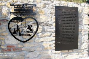 Pomnik Serce od Serca w Rozmierzy