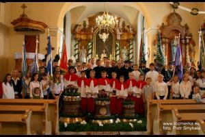 Uroczystość poświęcenia dzwonów w 2008 r.