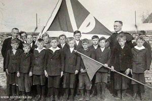 Kongregacja młodzieńców w Rozmierzy - rok 1937