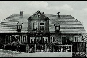 Plebania w Rozmierzy - rok 1935