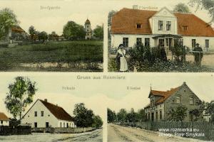 Pocztówka Rozmierzy z około 1920 r.