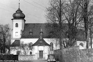 Kościół w Rozmierzy - lata 60-te XX w.