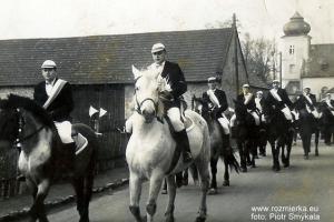 Rozmierz - konni jeźdźcy  podczas Nawiedzenia obrazu Jasnogórskiego w 1966 r.
