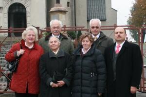 Strachwitzowie w Szymiszowie w 2009 r.