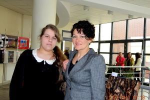 Ewa Glik z mamą